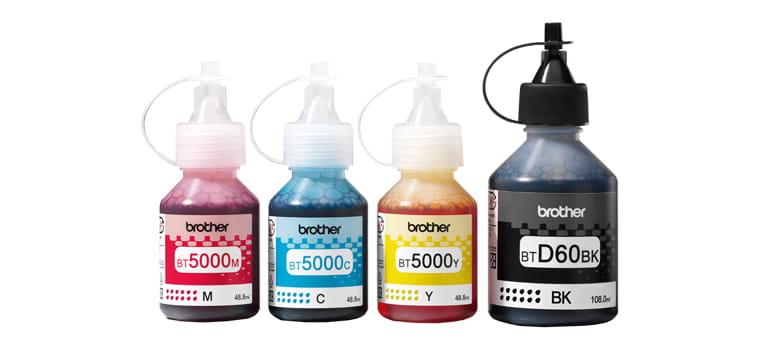 Četiri bočice tinte InkBenefit Plus
