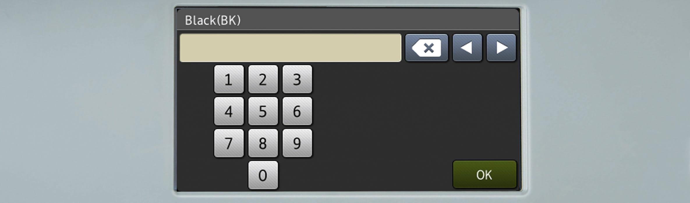 Broj na dodirnom zaslonu na Brother višenamjenskom uređaju s porukom Završeno