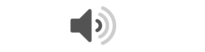 Siva ikona na bijeloj pozadini-tiho