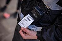 PACC002 zaštitna torbica na pisaču kojeg koristi izvršitelj