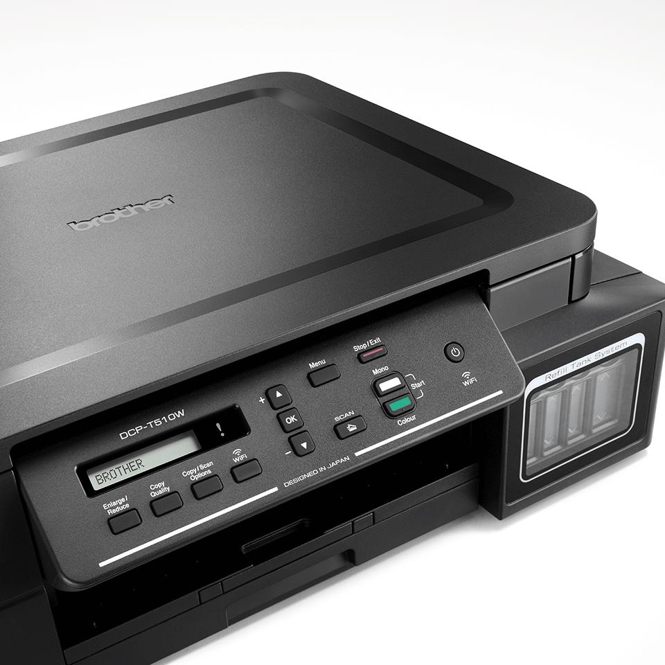 DCP-T510W InkBenefit Plus 3-u-1 bežični tintni višenamjenski uređaj u boji Brother 4