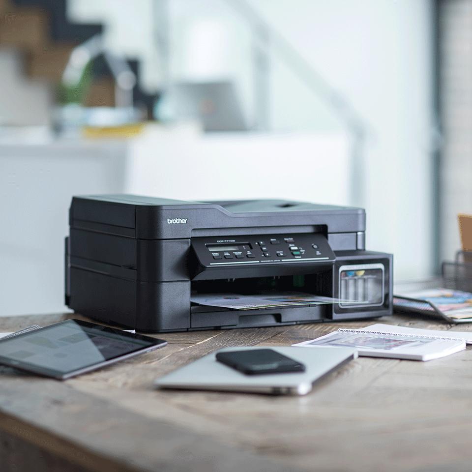 DCP-T710W InkBenefit Plus 3-u-1 bežični tintni višenamjenski uređaj u boji Brother 3