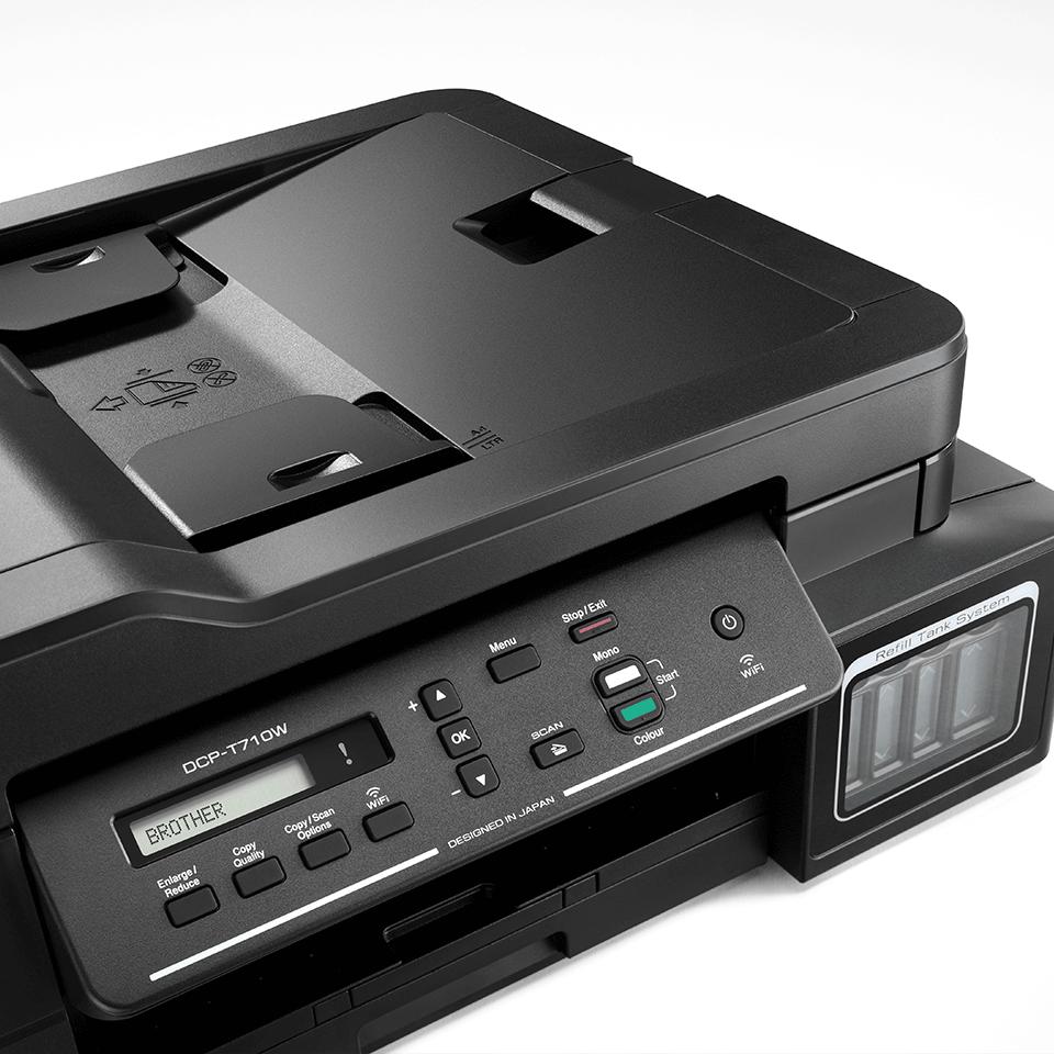 DCP-T710W InkBenefit Plus 3-u-1 bežični tintni višenamjenski uređaj u boji Brother 4