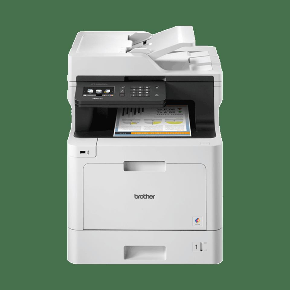 MFC-L8690CDW laserski višenamjenski uređaj u boji s faksom te obostranim i bežičnim ispisom 4