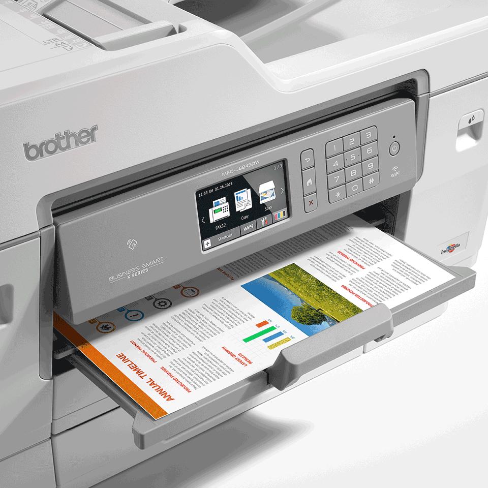MFC-J6945DW bežični A3 tintni višenamjenski uređaj u boji za ispis, kopiranje, skeniranje i faksiranje* 6