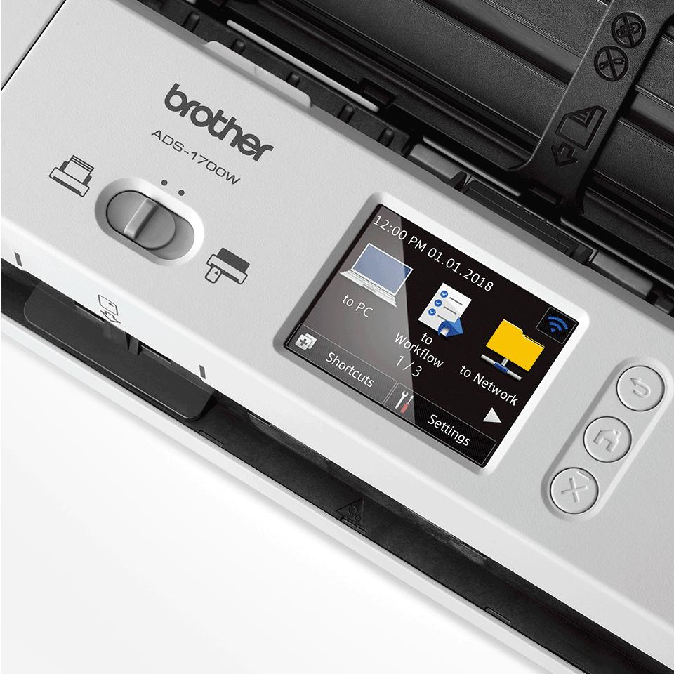 ADS-1700W  pametni kompaktan skener dokumenata 8