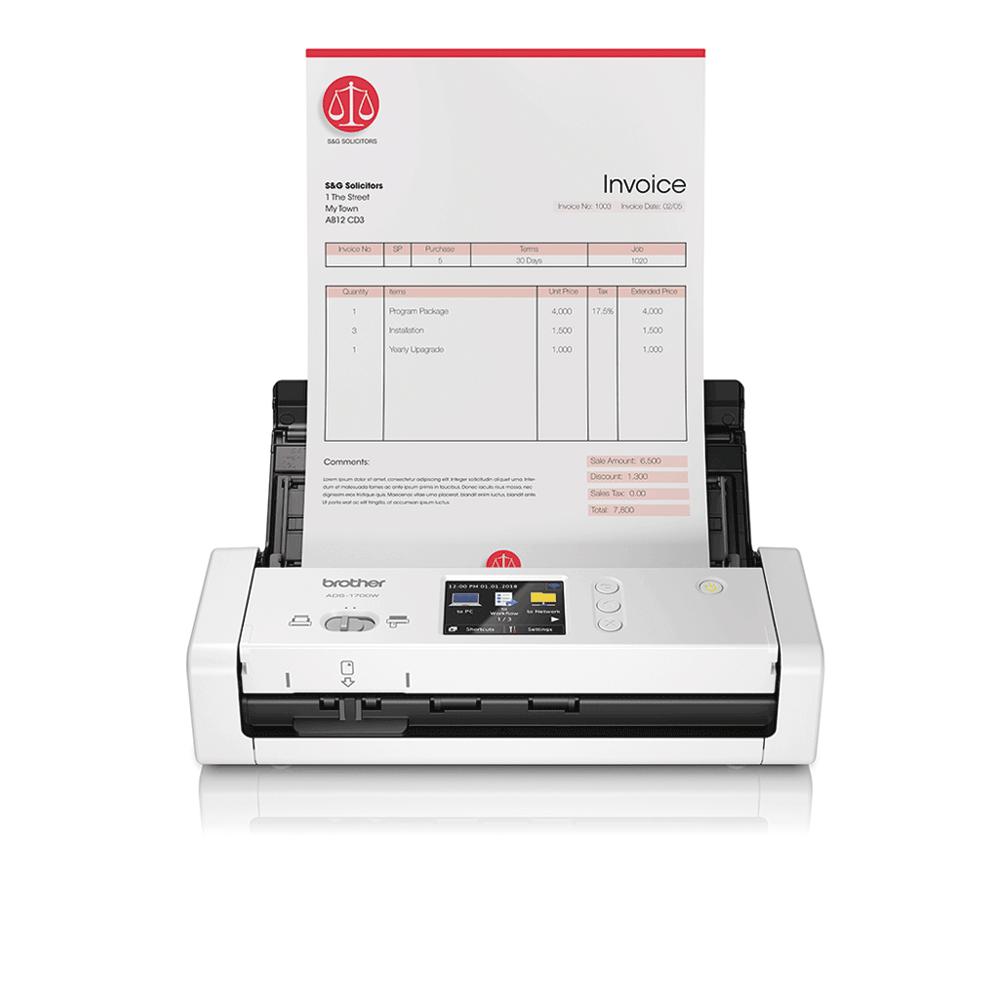 ADS-1700W  pametni kompaktan skener dokumenata