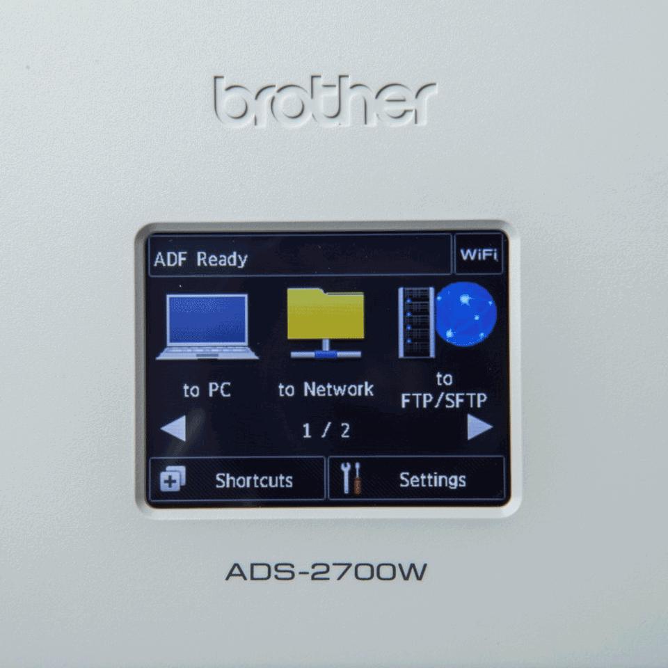 Brother ADS-2700W bežični i žičani stolni skener dokumenata 7