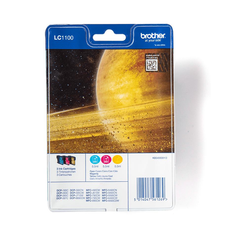 Originalan Brother LC1100RBWBP spremnik tinte - Rainbow blister paket
