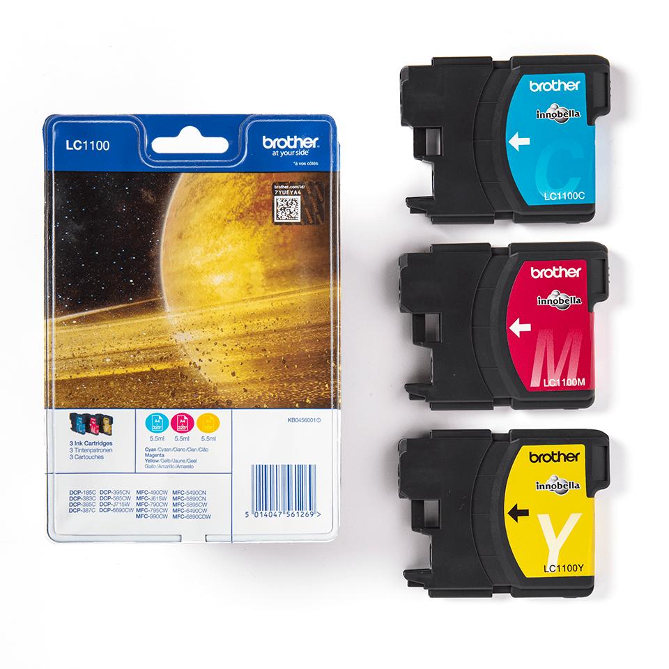 Originalan Brother LC1100RBWBP spremnik tinte - Rainbow blister paket 3