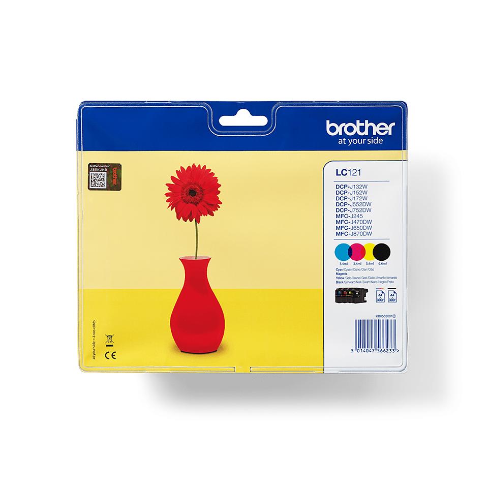 Originalan Brother LC121VALBP spremnik tinte - paket