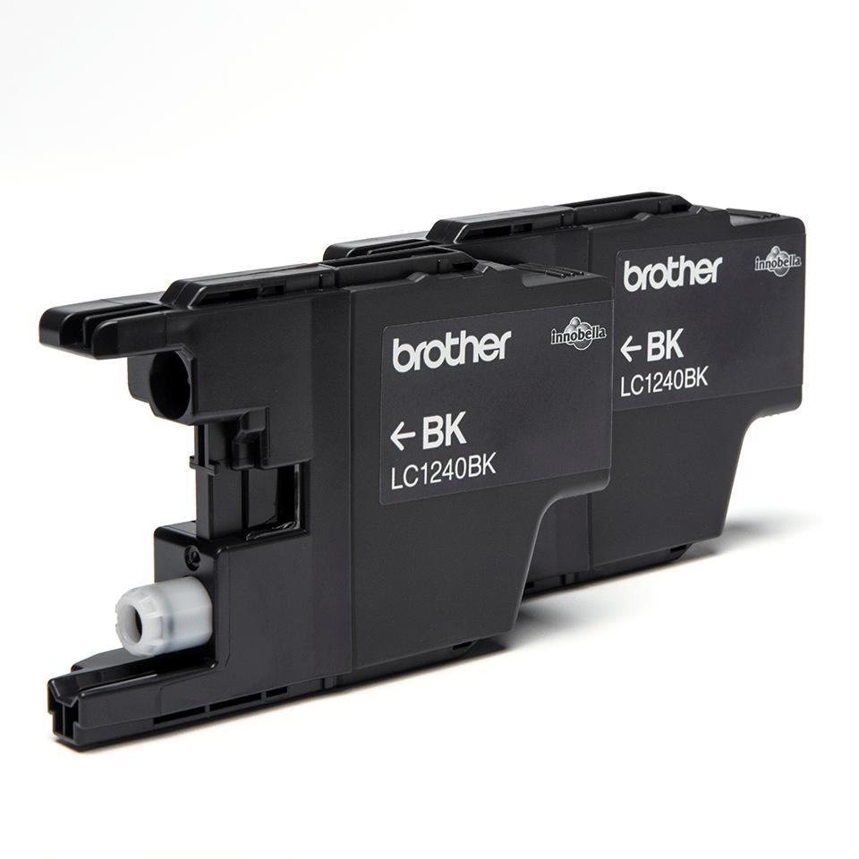Originalan Brother LC1240BKBP2 spremnik tinte - crni  (blister paket) 2