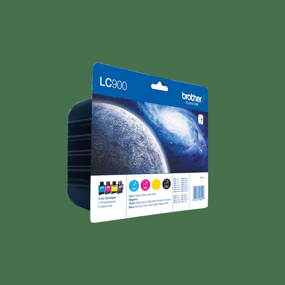 Originalan Brother LC900VALBP spremnik tinte - paket 2