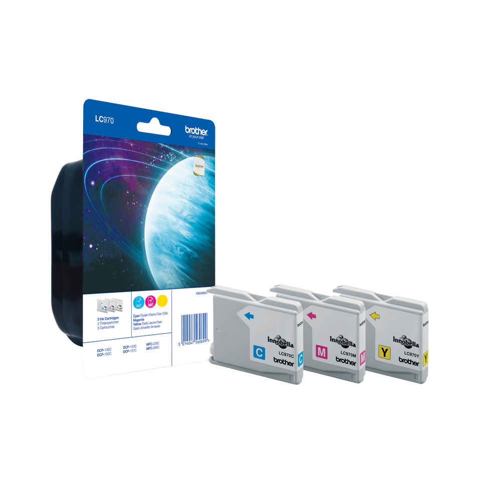 Originalan Brother LC970RBWBP spremnik tinte - Rainbow blister paket