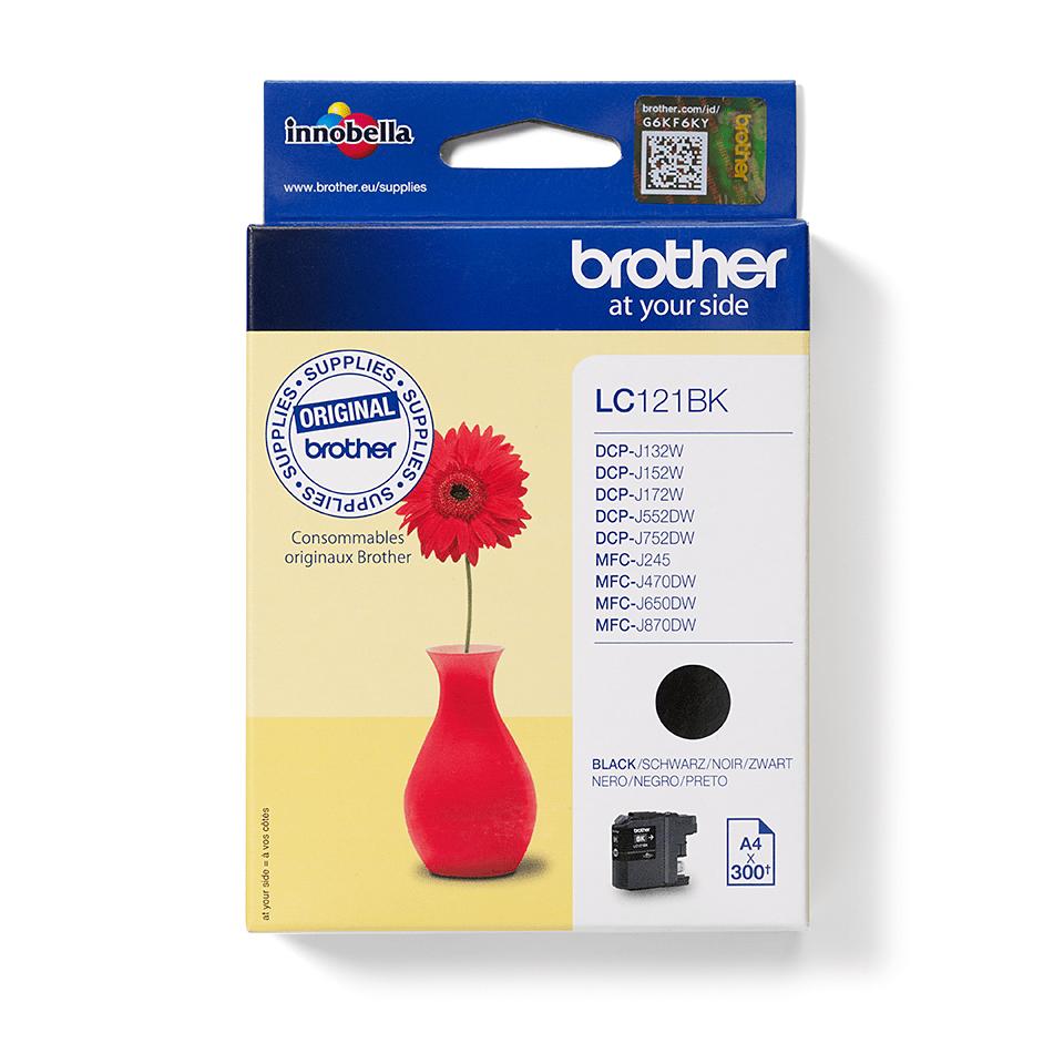 Originalan Brother LC121BK spremnik tinte – crni