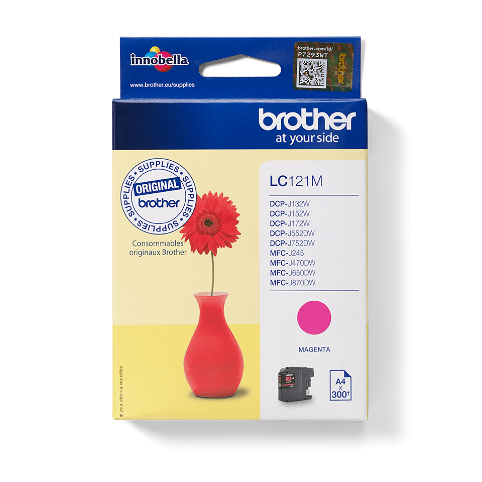 Originalan Brother LC121M spremnik tinte – magenta