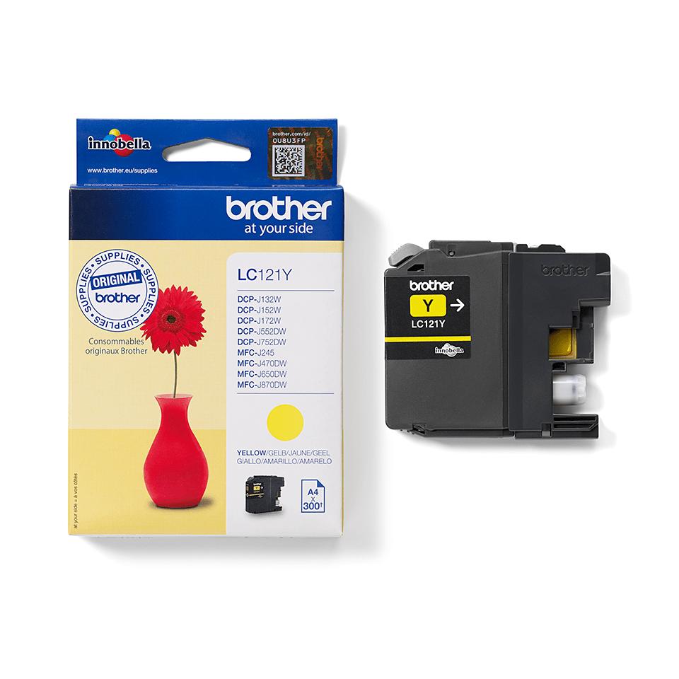 Originalan Brother LC121Y spremnik tinte – žuti 2