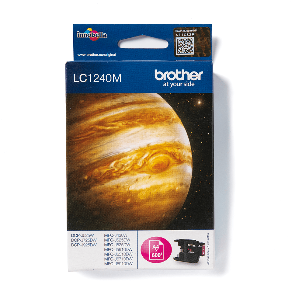 Originalan Brother LC1240M spremnik tinte - magenta