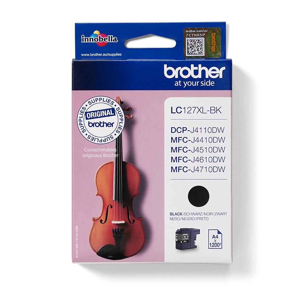 Originalan Brother LC127XLBK veliki spremnik tinte - crni