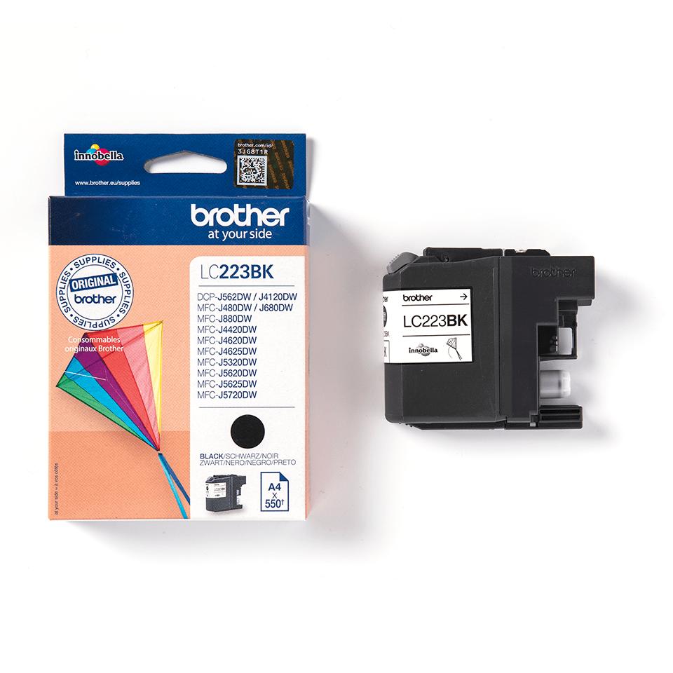 Originalan Brother LC223BK spremnik tinte - crni 3