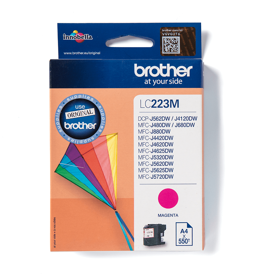 Originalan Brother LC223M spremnik tinte - magenta