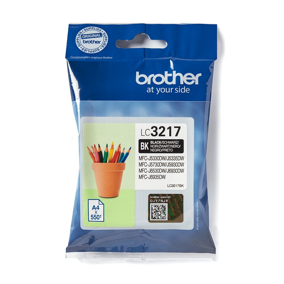 Originalni Brother LC3217BK spremnik tinte – crni
