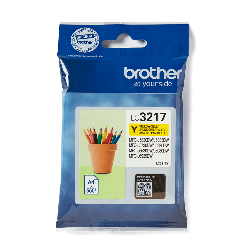 Originalni Brother LC3217Y spremnik tinte – žuti