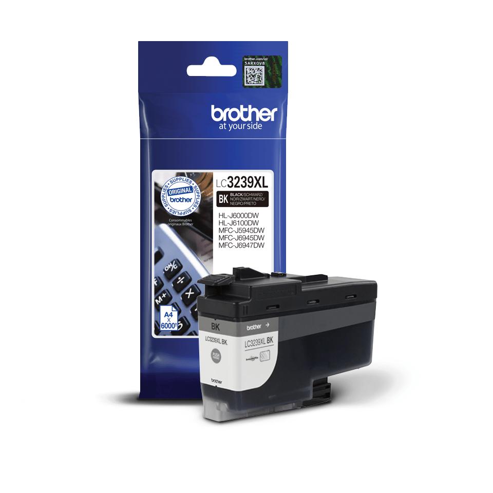 Originalni Brother LC3239XLBK spremnik tinte velikog kapaciteta – crni