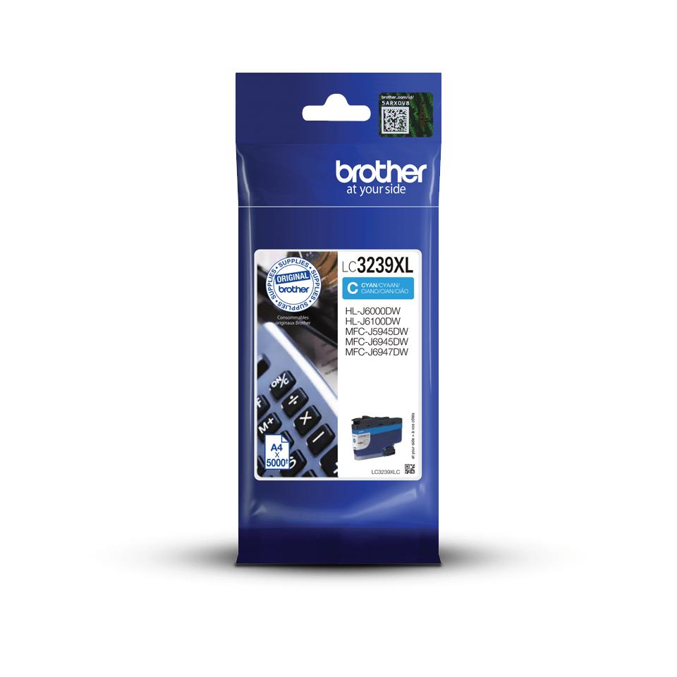 Originalni Brother LC3239XLC spremnik tinte velikog kapaciteta – cijan