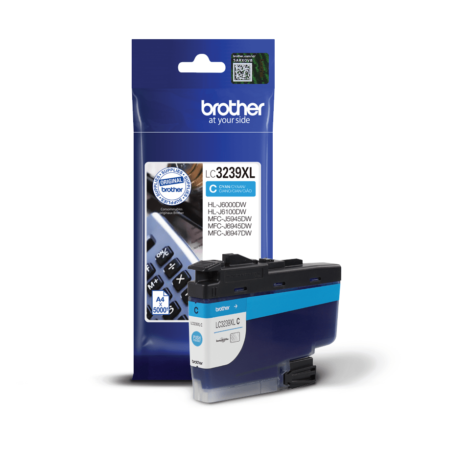 Originalni Brother LC3239XLC spremnik tinte velikog kapaciteta – cijan 2