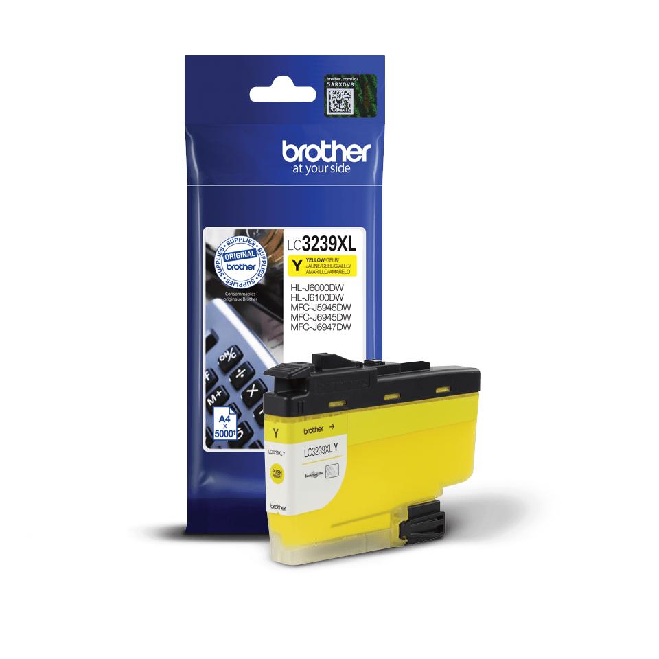 Originalni Brother LC3239XLY spremnik tinte velikog kapaciteta – žuti 2