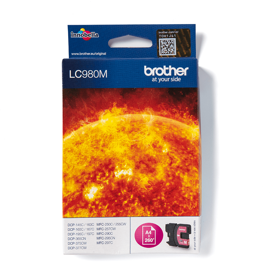 Originalan Brother LC980M spremnik tinte - magenta