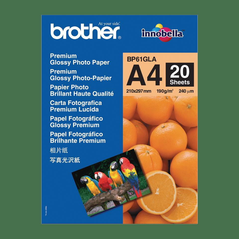 Originalan Brother BP61GLA A4 sjajni foto papir