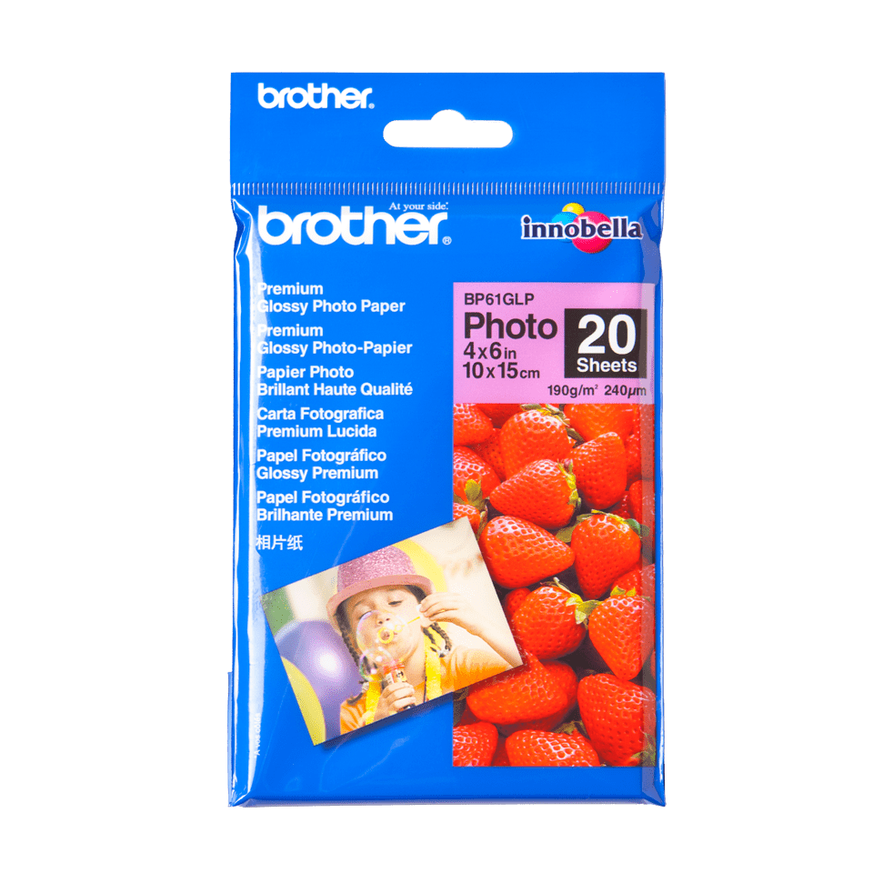 Originalan Brother BP61GLP 10 cm x 15 cm sjajni foto papir