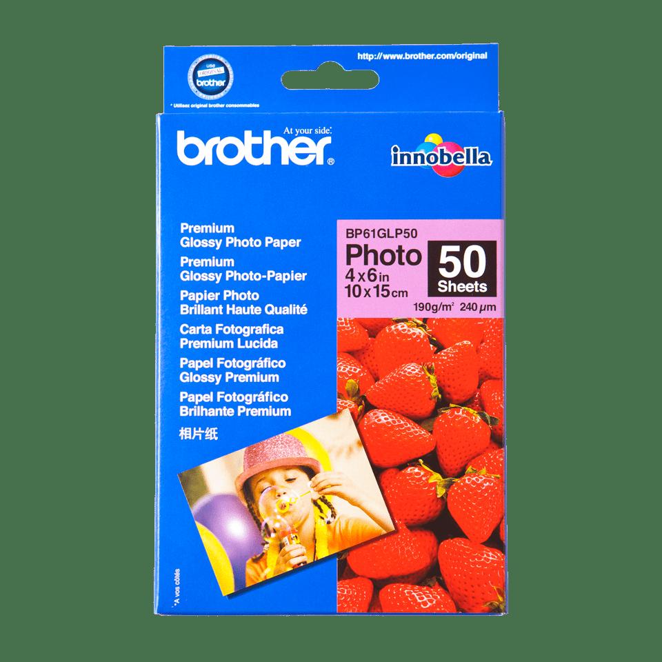 Originalan Brother BP61GLP50 10 cm x 15 cm sjajni foto papir