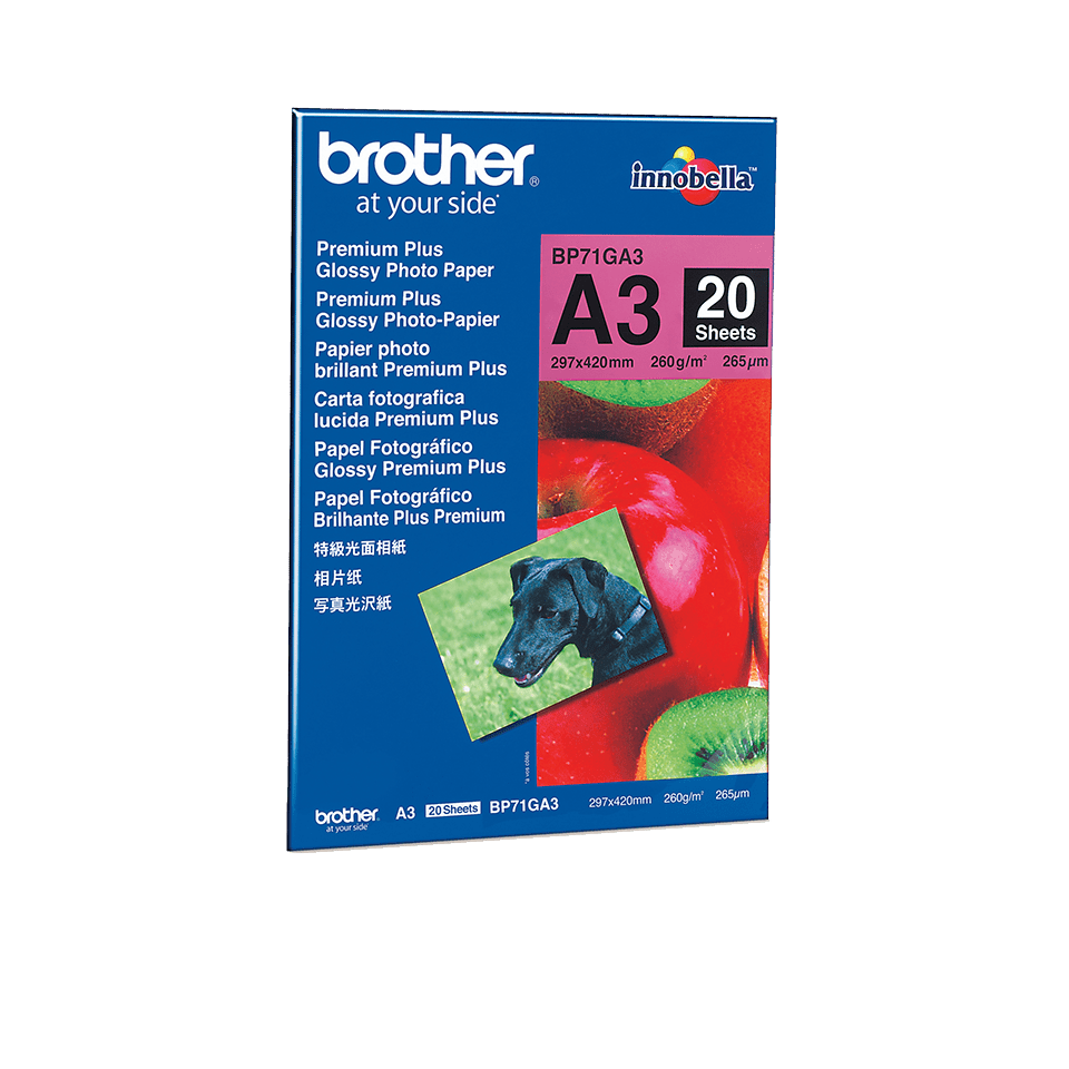 Originalan Brother BP71GA3 A3 sjajni foto papir