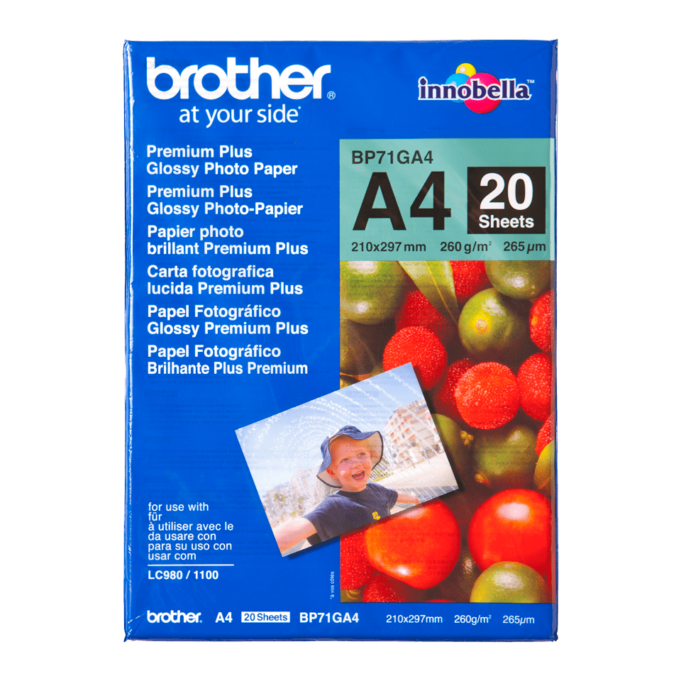 Originalan Brother BP71GA4 A4 sjajni foto papir