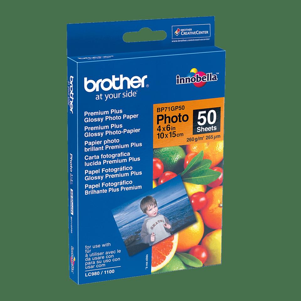Originalan Brother BP71GP50 10 cm x 15 cm sjajni foto papir