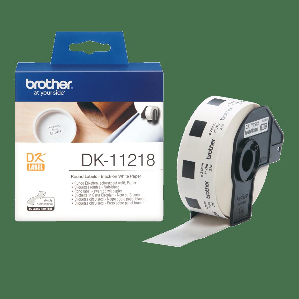 Originalna Brother DK-11218 rola za označavanje 3