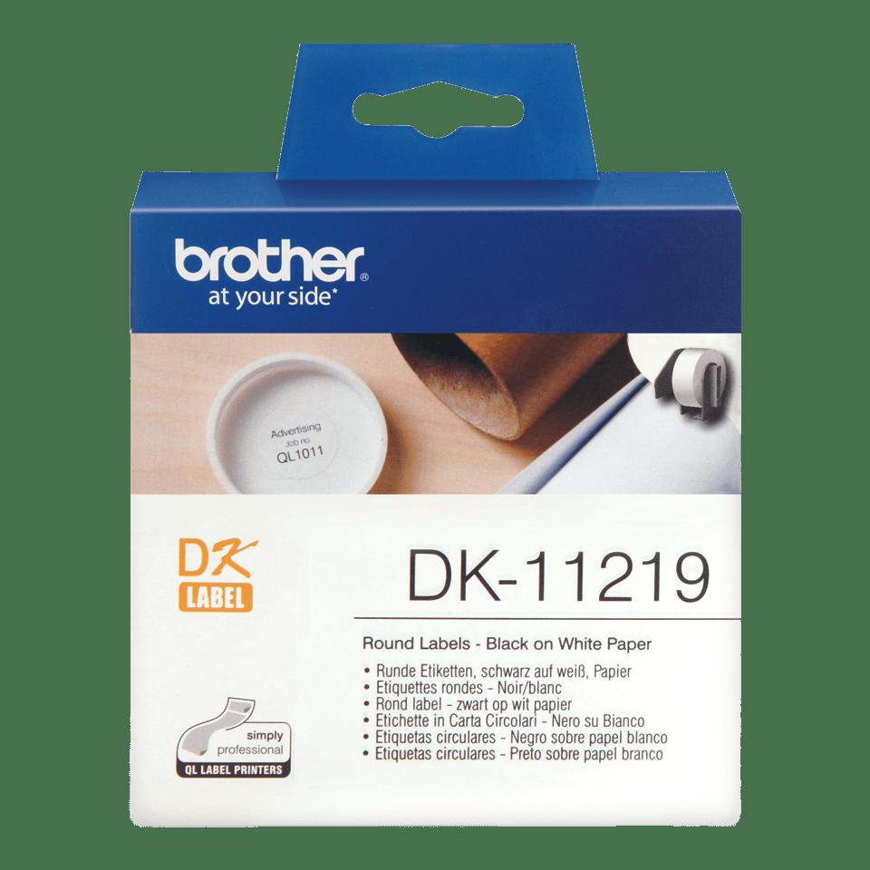 Originalna Brother DK-11219 rola za označavanje