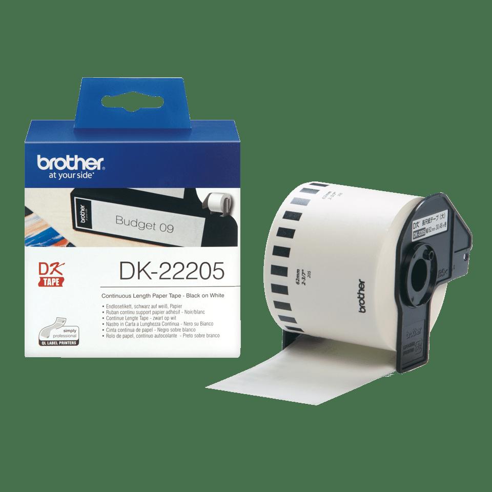 Originalna Brother DK-22205 rola s kontinuiranim papirnim naljepnicama 3