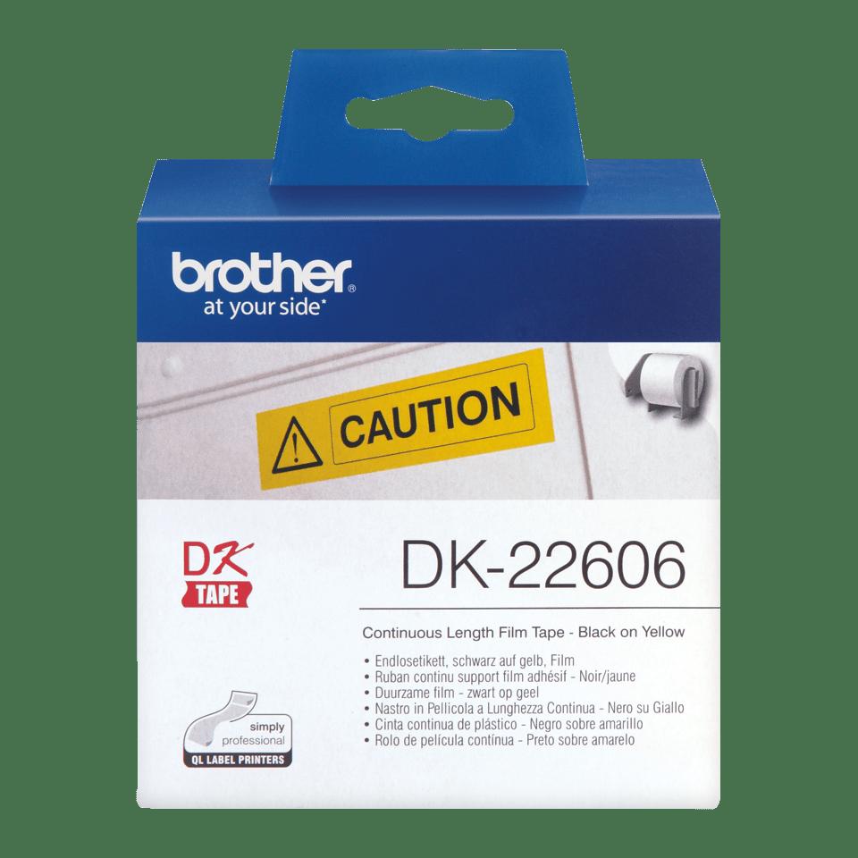 Originalna Brother DK-22606 rola s kontinuiranim poliestarskim naljepnicama 2