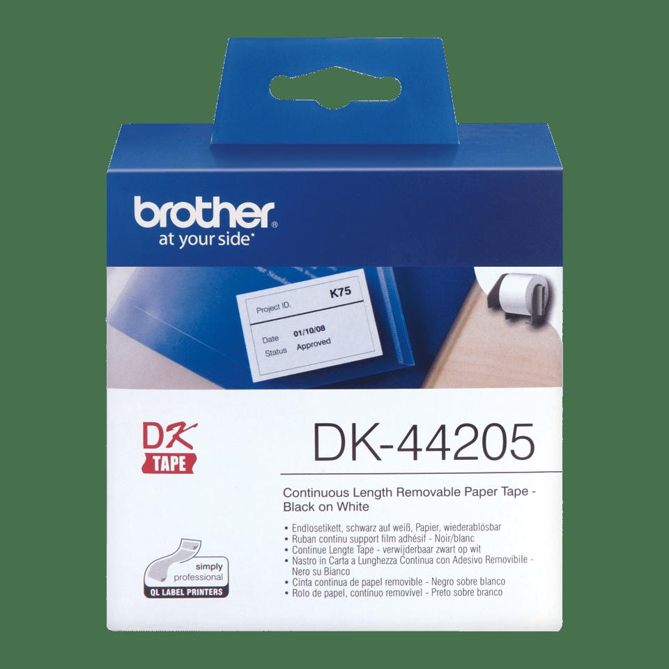 Originalna Brother DK-44205 rola s kontinuiranim papirnim naljepnicama odvojivog ljepila
