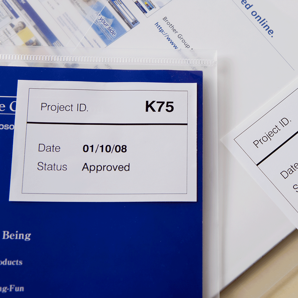 Originalna Brother DK-44205 rola s kontinuiranim papirnim naljepnicama odvojivog ljepila  2