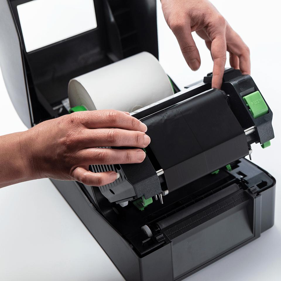 BWS-1D300-110 standardna voštana tintna traka/ribon za termalni prijenos (standard wax) 3