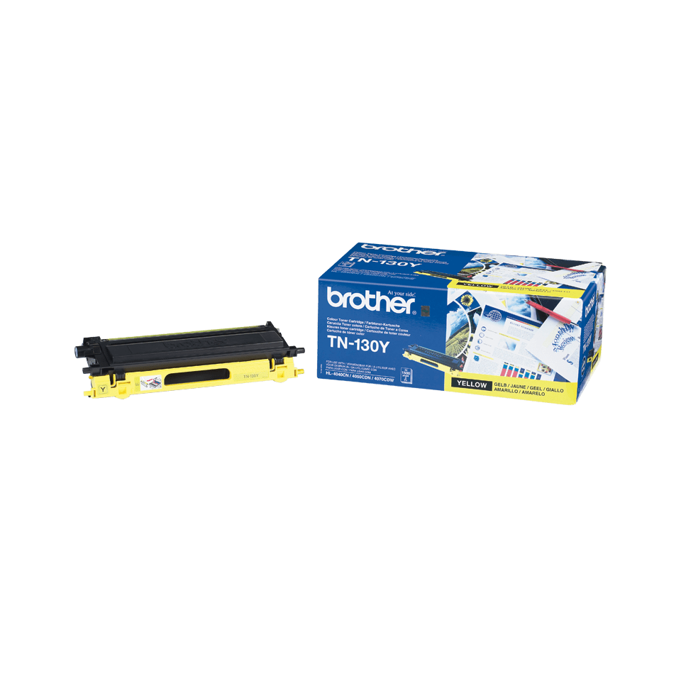 Originalni Brother TN-130Y toner – žuti