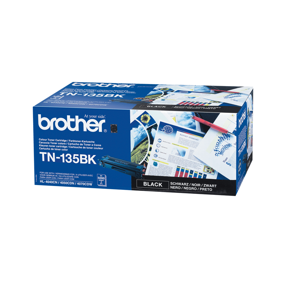 Originalni Brother TN-135BK veliki toner – crni