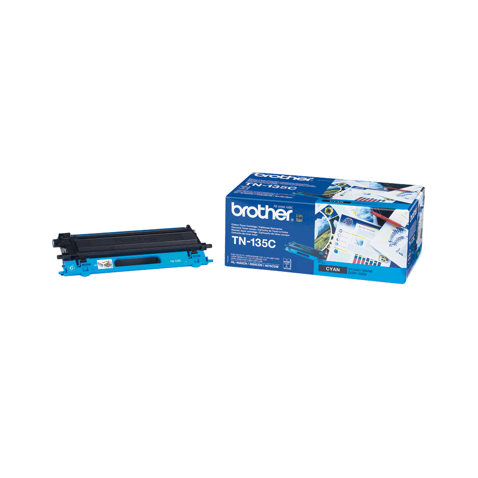 Originalni Brother TN-135C veliki toner – cijan
