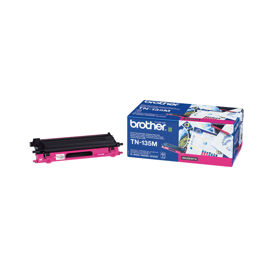 Originalni Brother TN-135M veliki toner – magenta