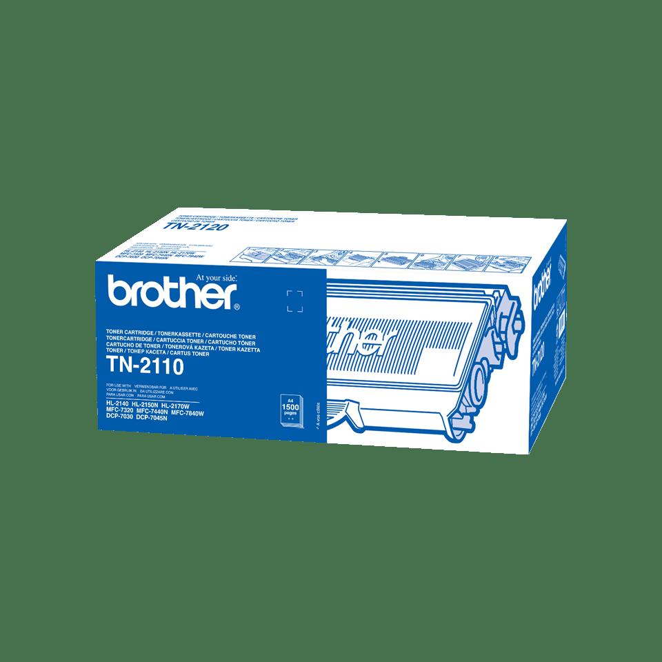 Originalan Brother TN-2110 toner – crni